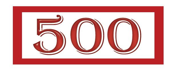 500 постови на претприемач