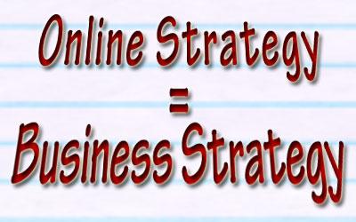 Бизнис стратегија и онлајн стратегија