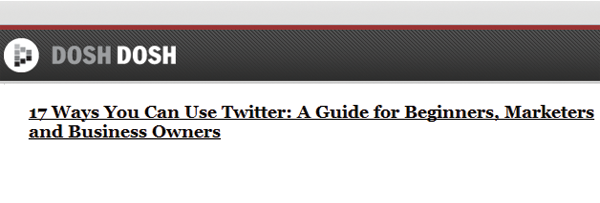 17 Начини на користење на Twitter - DoshDosh