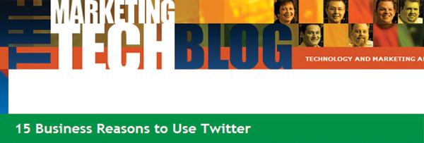 15 Бизнис причини за користење на Twitter - Marketing Tech Blog
