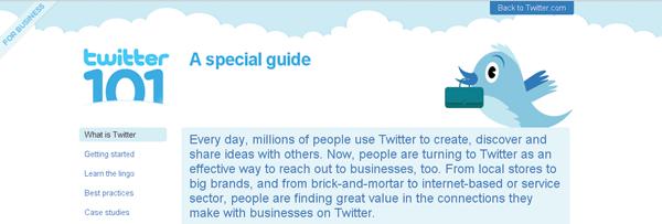 Официјален Twitter за бизниси