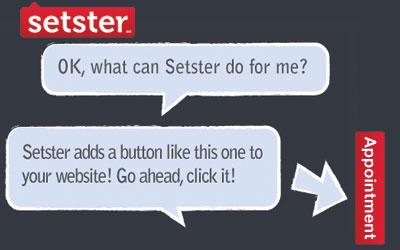 Setster алатка за закажување на состаноци