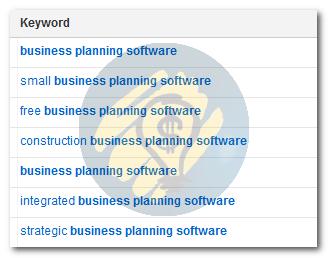 Можни пребарувања за Business planning software